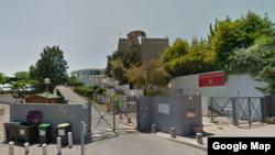 Le lycée de Grasse, dans le sud de la France. (Google street view)