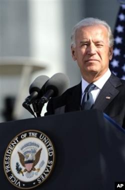 美国副总统拜登(资料照片)
