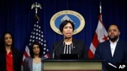 美國首都華盛頓女市長鮑澤3月7日晚宣布華盛頓出現首例新冠病毒感染確診病例。