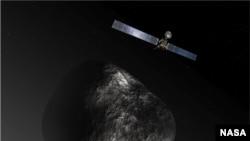 Sau khi tiến vào quỹ đạo, phi thuyền Rosetta sẽ đi theo Sao chổi 67P trong vòng một năm để quan sát trong lúc sao chổi bay về hướng mặt trời.