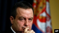 Srpski šef diplomatije Ivica Dačić