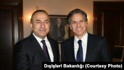 Dışişleri Bakanı Mevlüt Çavuşoğlu, ABD Dışişleri Bakan Yardımcı Antony Blinken ile görüştü