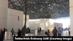 Le Louvre Abu Dhabi a ouvert ses portes au public, France, 9 novembre 2017. (Twitter/Irish Embassy UAE)