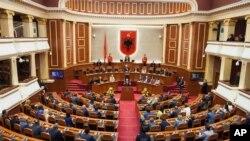 Albanski parlament (arhivski snimak)
