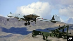 파키스탄에서 이륙하는 무인항공기(자료사진)