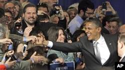 지난 달 30일 버몬트 벌링턴에서 선거자금 확보에 나선 바락 오바마 대통령.