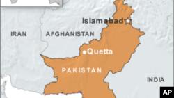 Peta wilayah Pakistan (Foto: dok). Pihak berwenang Pakistan mengatakan 21 laskar kesukuan yang diculik anggota militan ditemukan tewas di dekat kota Peshawar, Minggu (30/12).