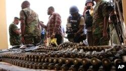Lutte contre Boko haram au Nigéria.