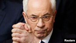 Ukraine's Prime Minister Mykola Azarov (file photo)