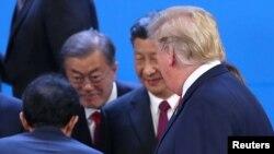 美國總統特朗普和中國國家主席習近平週末在阿根廷的20國集團峰會期間會面。