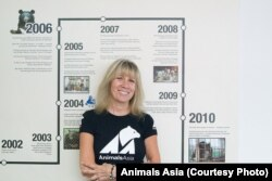 Animals Asia Founder and CEO Jill Robinson MBE.