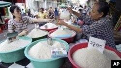 Giá gạo được xem không bị ảnh hưởng trong thời gian này
