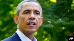 Obama dijo que la única solución duradera para el conflicto en Irak es la formación de un gobierno inclusivo.