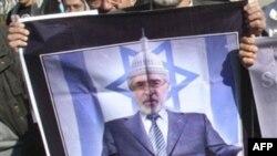 Плакат с изображением Мира Хуссейна Мусави