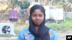 بہار کی دیہی دوشیزہ عاصمہ پروین کی تصویر اقوامِ متحدہ کے کیلنڈر پر