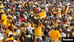 Abasekeli beqembu le Orlando Pirates eSoweto kwele South Africa