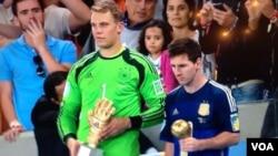 برندگان دستکش و توپ طلایی جام برازیل