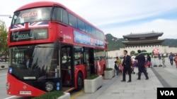 서울에 온 런던 2층버스