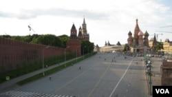 莫斯科紅場(美國之音白樺拍攝)