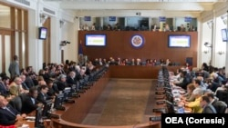 Reunyon Òganizasyon Eta Ameriken yo OEA sou Sitiyasyon Politik la nan peyi Venezuela.