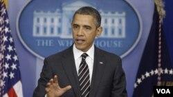 President Barack Obama at White House Feb. 5, 2013