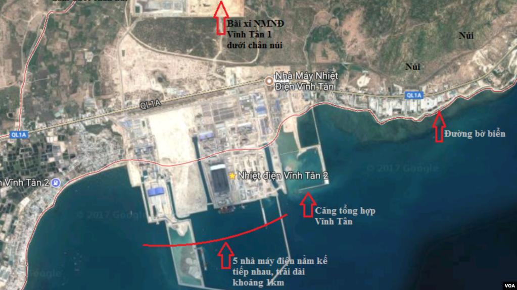 Bộ Tài nguyên-Môi trường chấp thuận cho Điện lực Vĩnh Tân 1 nhận chìm gần 1 triệu m3 bùn thải ra vùng biển Bình Thuận.