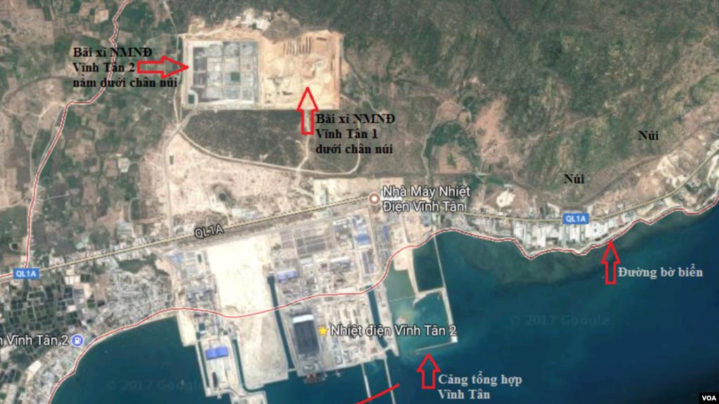 Bộ Tài nguyên - Môi trường chấp thuận cho Điện lực Vĩnh Tân 1 nhận chìm gần 1 triệu m3 bùn thải ra vùng biển Bình Thuận.
