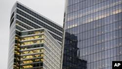 미국 뉴욕의 골드만삭스 본부 건물. (자료사진)