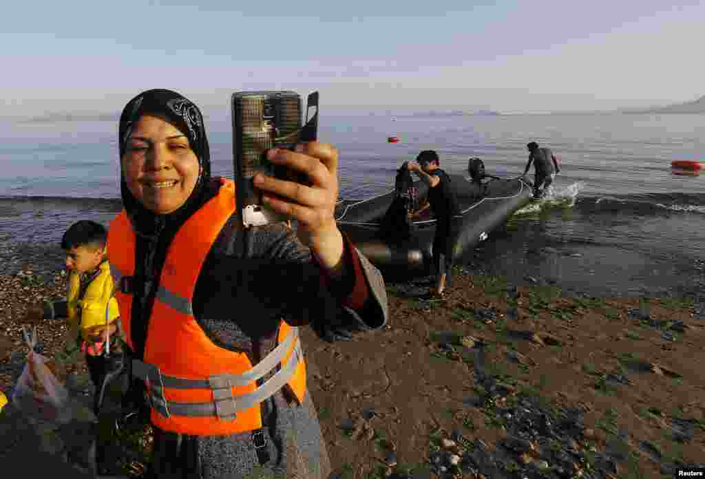 Suriyalı qaçqın Yunanıstanın Kos adasında