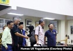 Pameran Masa Depan Islam di Indonesia, Kampus Universitas Islam Indonesia (UII) Yogyakarta. Pameran berlangsung mulai 15 Juli-15 Agustus 2019. (Foto: Humas UII)