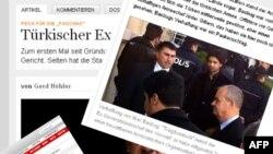 Handelsblaatt, Sueddeutsche Zeitung ve Bild gazetelerinin tutuklamayla ilgili haberleri