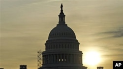 The US Capitol, at sunrise (File)