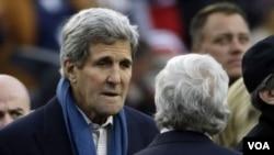 ລັດຖະມົນຕີ ຕ່າງປະເທດ ສະຫະລັດ ທ່ານ John Kerry