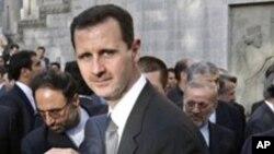 Le président de la Syrie, Bachar al-Assad