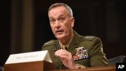 Jenderal Joe Dunford, Ketua Kepala Staf Gabungan Amerika (foto: dok).