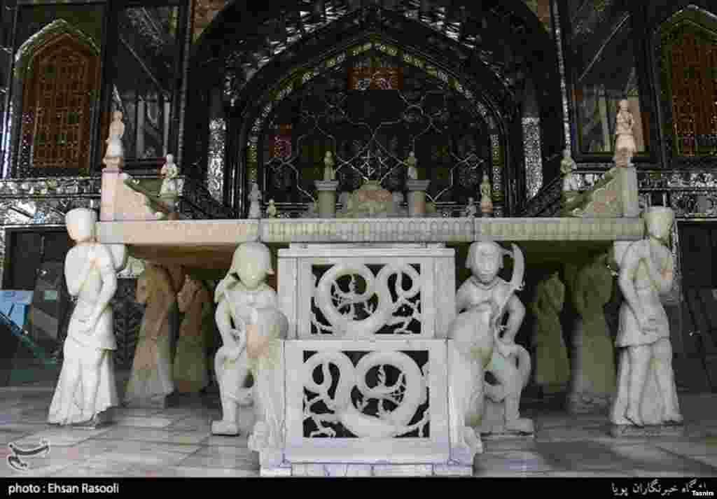کاخ گلستان مجموعهای از بناهاست که در میدان ارگ تهران واقع است. عکس: احسان رسولی