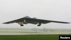 미 공군 소속 B-2 스텔스 폭격기 (자료사진)