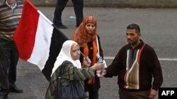 Người biểu tình xuống đường ở thủ đô Cairo phản đối việc nắm quyền kéo dài 30 năm của Tổng thống Mubarak