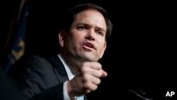 Senador republicano por Florida Marco Rubio.
