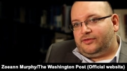 FILE - Washington Post journalist Jason Rezaian