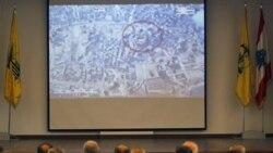ویدیویی را که گفته می شود به عنوان مدرکی بر درگیری اسراییل از یک هواپیمای شناسایی اسراییل به دست آمده