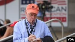 Novinar Glasa Amerike Jim Malone