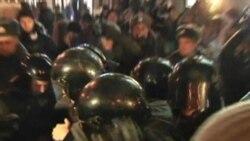 Россия: аресты в новогоднюю ночь