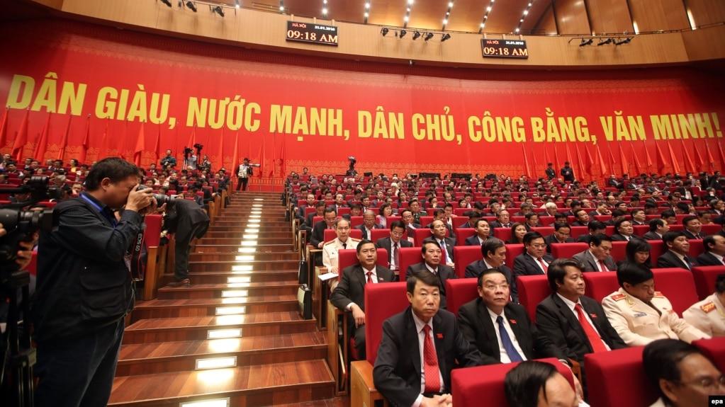 Lễ khai mạc Đại hội Đảng Cộng sản Việt Nam lần thứ 12, 21/1/2016. (Ảnh tư liệu)