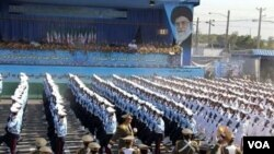 Dos de los partidos de oposición fueron disueltos en Irán.