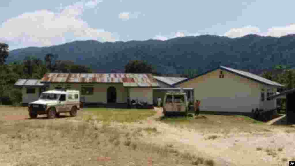 Hôpital de Kibuwa qui reçoit15 cas de femmes violées par mois.