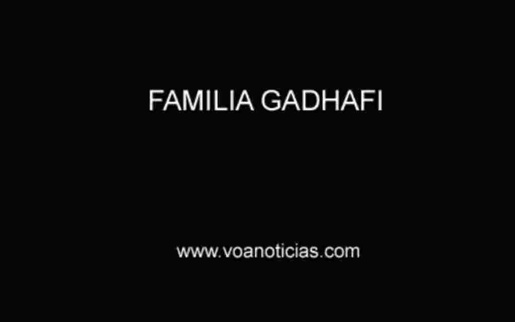 Familia Gadhafi