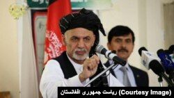Presiden Afghanistan Ashraf Ghani.