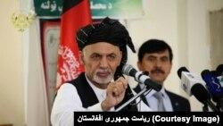 عکس آرشیوی از اشرف غنی رئیس جمهوری افغانستان