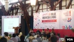 Konferensi Smart City di Kampus ITB, Bandung. (VOA/R. Teja Wulan)